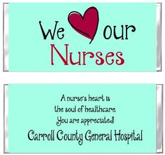 National Nurses Week begins on May Hershey Candy Wrapper Favors are a great way to show them you appreciate all they do! Nursing Apps, Nursing Memes, Funny Nursing, Nursing Quotes, Funny Nurse Quotes, Nurse Humor, National Nurses Week, Candy Wrappers, Bar Wrappers