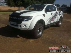 Ford Ranger modificada para rodar na África do Sul | Notícias Automotivas - Notícias de carros