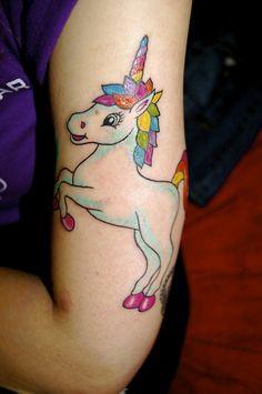 lisa frank tattoo