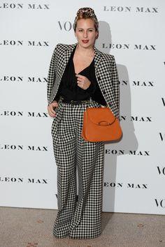 Charlotte Dellal à la soirée Vogue 100
