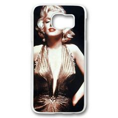 Picture of Marilyn Monroe 03 Case for Samsung Galaxy S6 PC Material Transparent