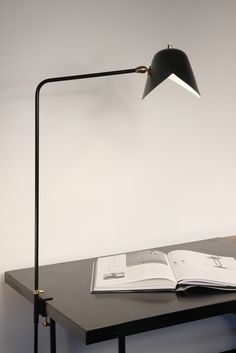 Agrafee simple by serge mouille #lamp #desk #lighting