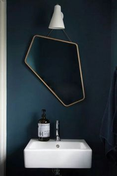 What do we think of an asymmetrical mirror?