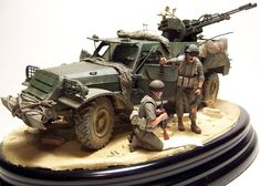 BTR-152 with ZU23-2 1/35 Scale Model
