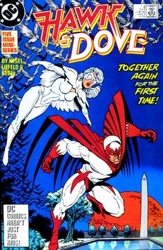 Hawk And Dove #2, November 1988, Pencils: Rob Liefeld, Inks: Karl Kesel