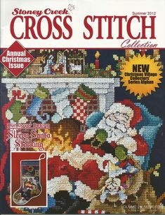 ru / Фото - st_cr - my-joy Cross Stitch Magazines, Cross Stitch Books, Cross Stitch Charts, Cross Stitch Patterns, Cross Stitch Christmas Stockings, Christmas Cross, Cross Stitching, Cross Stitch Embroidery, Embroidery Books