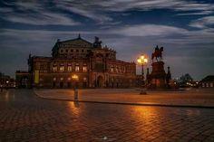 Semper Opera Dresden.
