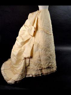 1870s skirt