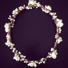Flower crown for a special little flower girl.