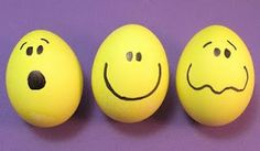 Smilie eggs - Ous emoticones