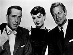 Audrey, Bogart and William Holden in Sabrina