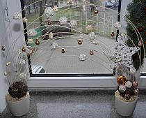 Raj, Decoupage, Table Decorations, Large Christmas Wreath, Handmade, Home Decor, Furniture, Crafting, Hand Made