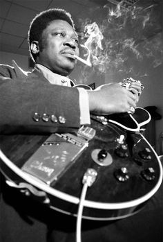 The Blues and guitar legend B.B. KING