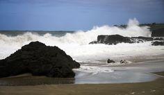 Beautiful beach in Kauai, HI even when a storm rolls in.