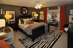 Bedroom Design Ideas on Bedroom Ideas Mens Bedroom Ideasme Bedroom Ideas Teen Bedroom Colors, Bedroom Red, Home Decor Bedroom, Bedroom Ideas, Fall Bedroom, Couple Bedroom, Pop Design, Design Ideas, Design Inspiration