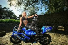 Jessica Maine, Stunt Rider.