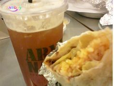 Stuffed Burito and LiberTea, only at Army Navy Army & Navy, Relax, Drink, Ethnic Recipes, Food, Cagayan De Oro, Beverage, Essen, Meals