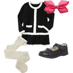 """Little Girls Fashion"" by howhauteisthat on Polyvore"