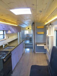Inspired Picture of Short Bus Conversion Interior Ideas For Cozy Living. Short Bus Conversion Interior Ideas For Cozy Living Success Express School Bus Conversion Charlie Kern Coachs Ride School Bus Tiny House, Old School Bus, School Buses, Motorhome, School Bus Rv Conversion, Bus Interior, Interior Ideas, Interior Design, Bus Remodel