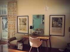 Hung Up On Retro: NZ Retro Beach House