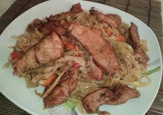 Pork, Beef, Chicken, Kitchen, Red Peppers, Kale Stir Fry, Cooking, Home Kitchens, Ox