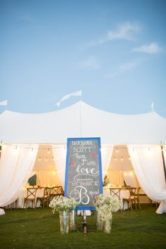 Beautiful tented reception: http://www.stylemepretty.com/california-weddings/santa-barbara/2015/05/28/elegant-tented-santa-barbara-polo-club-wedding/ | Photography: Jessica Lewis - http://www.jessicalewisphoto.com/blog/