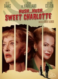 Hush, Sweet Charlotte movie was released Apr 08, 2008 by the 20th Century Fox studio. Description from cduniverse.com. I searched for this on bing.com/images