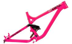 2014 Commencal SX frame in Neon Pink!