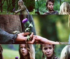 Braveheart  It may be littered with historical inaccuracies, but I think 99% of Scotland have seen it. And this picture highlights my favourite scene involving the thistle.
