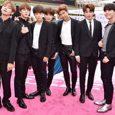 K-pop boy band BTS stole the sartorial show at the 2017 Billboard Music Awards.