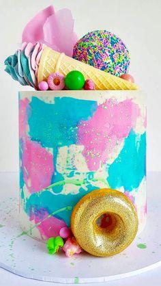 macaron cake wedding Sugar and salt cookies Sugar and salt cookies Wedding Greet Macaron Cake, Macarons, Cupcake Cakes, Beautiful Cakes, Amazing Cakes, Chocolate Mud Cake, Watercolor Cake, Individual Cakes, Fresh Flower Cake