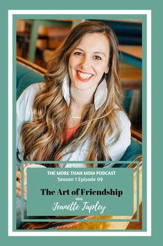 The ladies talk all about why friendships are so important, how to create good friendships as adults (and as moms), and how friendships can change based on the seasons of life that you are in. Different Parenting Styles, Seasons Of Life, Best Friendship, Friends Mom, Words Of Encouragement, Real Talk, Change, Create, Encouragement Words