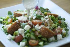 Falafel Salad by dirtykitchensecrets, via Flickr