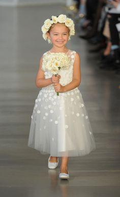 fc9a84c255f It s All in the Details For Oscar de la Renta s Spring 2017 Wedding Dresses.  Bridal DressesFlower Girl ...