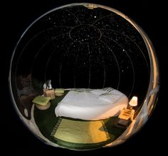 Bubble under the stars !!!