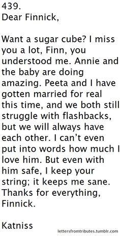 Katniss to Finnick