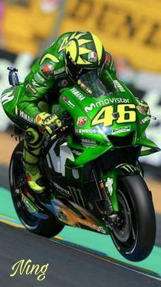 Love VR46 Vale Rossi, Velentino Rossi, Valentino Rossi Yamaha, Valentino Rossi 46, Yamaha Motorcycles, Yamaha Yzf R6, Motocross Bikes, Motorcycle Bike, Course Moto