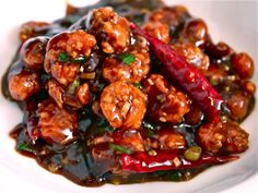 General Tso's chicken: 1/4 cup low sodium chicken stock  1 tablespoon soy sauce  1 tablespoon rice wine vinegar  2 tablespoons hoisin sauce  1 teaspoon Chinese chili paste  2 teaspoons sesame oil  3 tablespoons sugar  2 teaspoons cornstarch  2 tablespons vegetable oil  2 cloves minced garlic (about 2 teaspoons  1 teapsoon minced fresh ginger