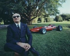 Enzo Ferrari, founder of Ferrari Co.