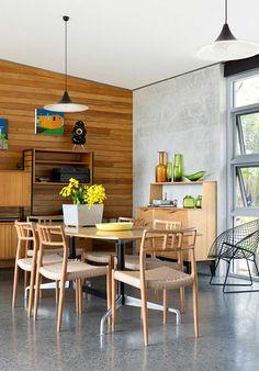 Binnenkijken in het buitenland: een huis vol hout in Perth, Australië / www.woonblog.be