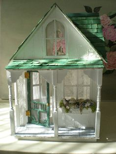 Shabby Streamside Studio- dollhouse version!