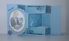 Weeping+Willow:+Konfirmasjonskort+2012.+Tri+fold+card. Tri Fold Cards, Weeping Willow, I Card, Coasters, Decorative Boxes, Home Decor, Decoration Home, Room Decor, Drink Coasters