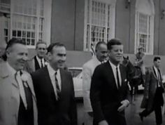PRESIDENT KENNEDY IN FORT WORTH, TEXAS, ON NOVEMBER 22, 1963