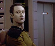 Lt. Commander Data from Star Trek: The Next Generation
