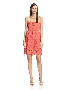 Darling Women's Sienna Dress (Coral)