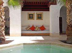 Riad Matham Le Riad, Moroccan Interiors, Around The Corner, Marrakech, Morocco, Oversized Mirror, Unique, Furniture, Home Decor