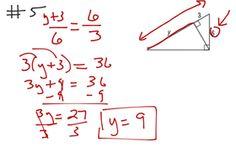 Geometry Ch 8 Test Rev #5