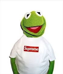 A classic poster from the popular streetwear clothing brand Supreme. Supreme posters SUPREME Box Logo Large printed on high quality glossy photo Kermit X Supreme Supreme Clothing, Hype Wallpaper, Frog Wallpaper, Wallpaper Art, Laptop Wallpaper, Supreme Wallpaper, Hypebeast Wallpaper, Marken Logo, Terry Richardson