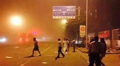 At Least 300 Injured After Explosion In China's Ti...
