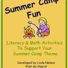 Do you use a summer camp theme in your end-of-year teaching, summer school, or year-round program? This set of 24 literacy & math activities wi...
